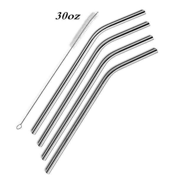 Reusable Drinking Straws 30oz